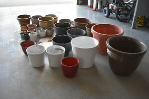 Flower pots  Various size and various color flower pots