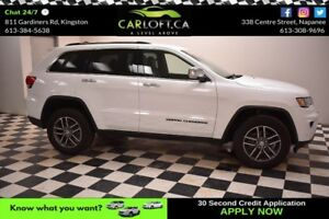 2017 Jeep Grand Cherokee Limited- LEATHER * NAV * BLUETOOTH