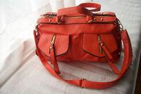 Orange handbag, brand new