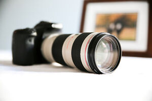 Canon 70D with 70-200-f4