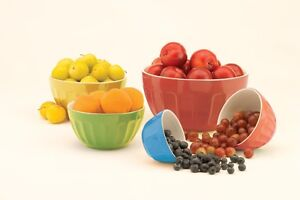 Paderno 5-piece Coloured Mixing Bowl Set - Brand New