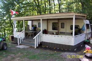 nice, clean trailer at twin cedar family park. price lowered Belleville Belleville Area image 1