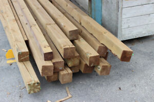 Pressure Treated Lumber For Sale