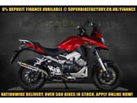 2017 17 HONDA VFR800X CROSSRUNNER 800CC 0% DEPOSIT FINANCE AVAILABLE