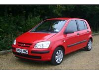Only 49487 Miles HYUNDAI GETZ GSI with FULL SERVICE HISTORY and Recent NEW MOT