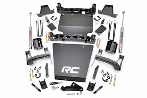 """Rough Country 5"""",6"""",7.5"""" Lift kits for Chevrolet & GMC 07-17"""