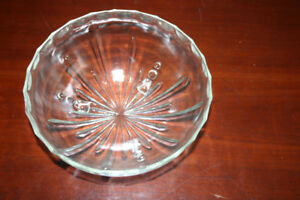 Antique Glass Fruit Bowl