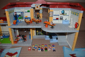 Playmobil School, Gym & Crossing Guard Kingston Kingston Area image 2