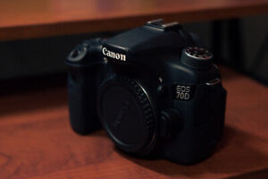 Canon 70D + 18-55mm kit lens!
