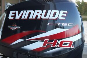 2012 Evinrude ETEC 250HO with Warranty - less than 200 hrs