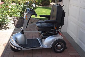 3-Wheel Shoprider Handicap Scooter