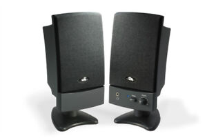 Used Computer Speakers (Cyber Acoustic)