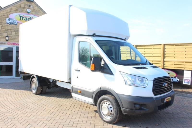 2015 FORD TRANSIT 350 TDCI 125 DRW L4 LUTON WITH TAIL LIFT LUTON DIESEL