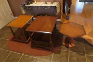 3 OCCASIONAL/END TABLES