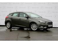 2018 Ford Focus 1.5 EcoBoost Titanium Navigation 5dr Hatchback Petrol Manual