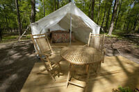 Darien Lake Glamping site