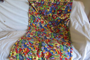 CHILDS QUILT SLEEPING BAG