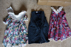 Girls clothing  dresses, and tops size 4 gently used $1.00 each