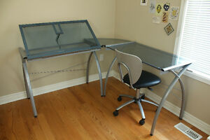 Drafting / Artist Desk and Chair