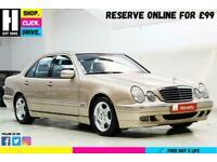 2001 Mercedes-Benz E Class 2.0 E200 Kompressor Avantgarde 4dr Saloon Petrol Auto