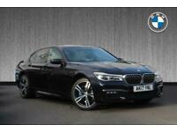 2017 BMW 7 Series 750i M Sport Saloon Auto Saloon Petrol Automatic
