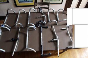 CHOIX HANDLEBARS GUIDONS stems potence bike velo quills FORKS