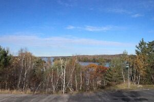 South Bay lot over looking Ramsey Lake