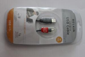 Belkin 4 pin mini USB cable