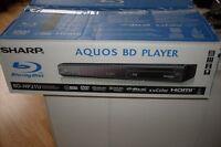 Sharp Aquos Blu Ray Player