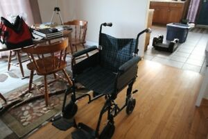 Airgo indoor transfer chair, like new