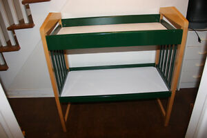 Wooden Change Table. Change Table for kids. Real Wood.
