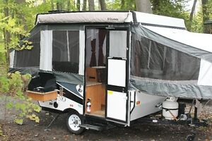 2014 8 FOOT BOX & 10 FOOT BOX PALOMINO TENT TRAILERS FOR SALE
