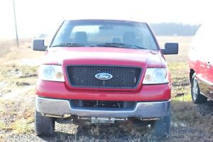 2005 Ford F-150 Pickup Truck Red