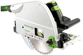 Festool TS75 EQ-Plus 210mm Plunge Saw 110v