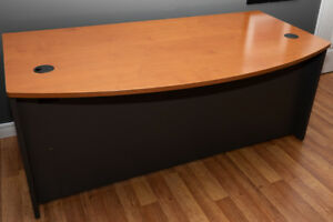 Large arched desk