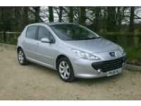 Just done 41958 Miles Peugeot 307 1.6S with SERVICE HISTORY and NEW MOT