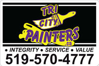 Full time painters needed