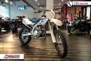 Yamaha YZ450F motocross 2018