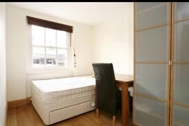 2 double rooms in a modern flat wc1 Russell Square