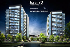 SKY CITY 2 CONDOS IN RICHMOND HILL ( VIP ACCESS REGISTER NOW )
