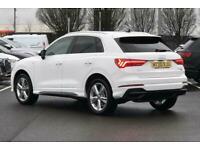 2020 Audi Q3 S line 40 TFSI quattro 190 PS S tronic Semi Auto Estate Petrol Auto