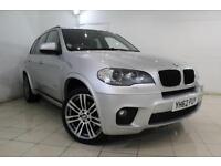 2013 62 BMW X5 3.0 XDRIVE30D M SPORT 5DR AUTOMATIC 241 BHP DIESEL