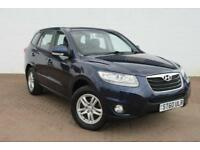 (10) ST60 ULR HYUNDAI SANTA FE STYLE 2.2 CRDI DIESEL MANUAL FINISHED IN BLUE