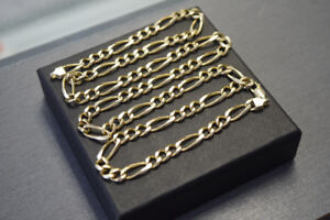24-Inch Solid 10K Gold Men's Chain Necklace