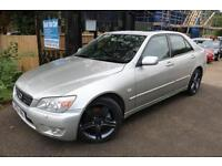 Lexus IS200 2.0 SE Auto 4 Door Silver Full Service History Cambelt Changed Autom