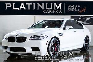 2013 BMW M5 $499 BI-WEEKLY/ EXECUTIVE/ FROST WHITE/ V-8 ENGINE