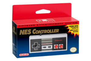 Authentic NES Classic Nintendo Brand Controller - New