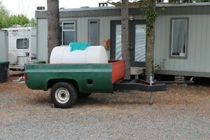 Wanted trailer made from rear of chevy pickup