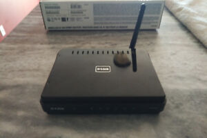 4 port wireless D-Link Router