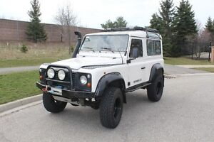 1997 Land Rover Defender 90 – 300 TDI – 243,000 kms - LHD